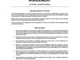 Tenancy Contract Template Uk Tenancy Agreement Templates Free Download Edit Print