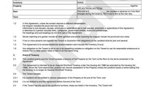 Tenant Contract Template Uk Tenancy Agreement Template Shorthold Tenancy Agreement Uk