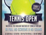 Tennis Brochure Template Tennis Flyer Template Flyerstemplates