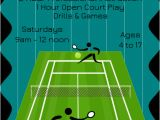 Tennis Flyer Template Free Download A Free Tennis Clinic Flyer Template for Inkscape