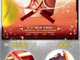 Tennis Flyer Template Free Download Https Graphicriver Net Item Tennis tournament