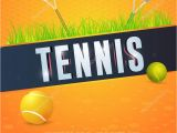 Tennis Flyer Template Free Tennis event Flyer or Poster Template Vector Design