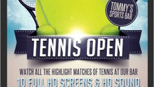 Tennis Flyer Template Free Tennis Flyer Template Flyerstemplates