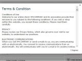 Terms and Conditions for Online Store Template Terms and Conditions for Online Store Template Rusinfobiz