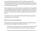 Terms and Conditions Of Employment Template Competition Terms and Conditions Template Nz Templates