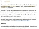 Terms and Conditions Of Employment Template Sample Terms and Conditions Template Termsfeed
