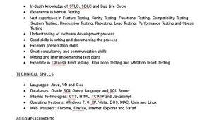 Test Engineer Resume Test Engineer Resume Sample Limeresumes