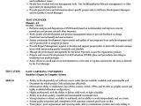 Test Engineer Resume Test Engineer Resume Samples Velvet Jobs