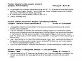 Test Manager Resume Template Uat Tester Resume Sample Resume Ideas