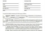Texas Construction Contract Template 7 Construction Contract Templates Word Google Docs