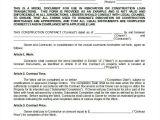 Texas Construction Contract Template Construction Contract Template 14 Word Pdf Apple