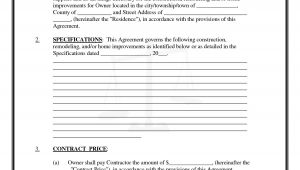 Texas Construction Contract Template Pics Of Residential Construction Contracts Residential