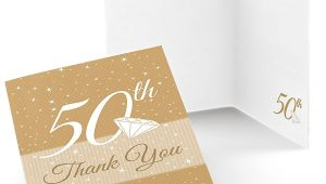 Thank You Card after Farewell Party 50th Anniversary Wedding Anniversary Thank You Cards 8