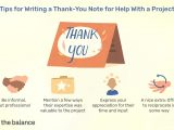 Thank You Card for Boss when Leaving Job Sample Thank You Letters for Help with A Project