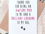 Thank You Card for Your Grandparents Excited to Share This Item From My Etsy Shop Funny Dog