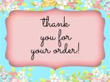 Thank You Card for Your order 811 Best Thank You for Your order Images In 2020 Thank You