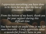 Thank You Card for Your Support 33 Best Funeral Thank You Cards with Images Funeral