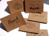 Thank You Card Hong Kong 6pcs Bag Retro Kraft Paper Gift Card Wedding Invitation