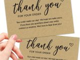 Thank You Card Ideas for Business Amazon 50 4×6 Thank You for Your order Cards