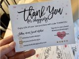 Thank You Card Ideas for Business Diy Instant Download Printable Thank You Card for Small