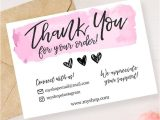 Thank You Card Ideas for Business Instant Download Editable and Printable Thank You Card for