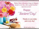 Thank You Card Japanese Teacher for Our Teachers In Heaven Happy Teacher Appreciation Day