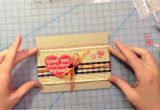 Thank You Card Kaise Banate Hain How to Make A Thank You Card From Start to Finish Lawn Fawn