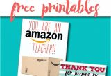 Thank You Card Kindergarten Teacher Free Teacher Gift Card Printable Thank You Card Idea