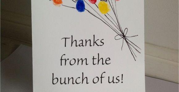 Thank You Card Kindergarten Teacher Teacher Appreciation Card From Class Louise with Images