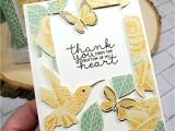 Thank You Card Packs Kmart Press N Seal Card with Mosaic Mood Designer Paper Patty Stamps