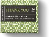 Thank You Card Paper Weight thoughtfulls Pop Open Cards by Compendium Thank You 30 Pop Open Cards Each with A Different Inspiring Message Inside