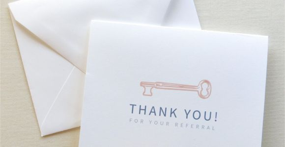 Thank You Card Real Estate Agent Real Estate Agent Thank You Card Thank You for Your
