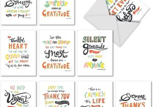 Thank You Card Real Estate Agent Thank You Appreciation Greeting Cards 10 Pack assorted Blank Words Of Appreciation Thankful Note Card Set Colorful Gratitude and Thanks Notecard