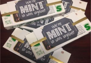 Thank You Card Real Estate Agent We Re Mint to Work together who Doesn T Love Junior Mints
