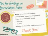 Thank You Card Upload Photo Appreciation Letter Examples and Writing Tips