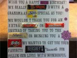 Thank You Card Using Candy Bars Candy Bar Poster is Finally Done Candy Birthday Cards