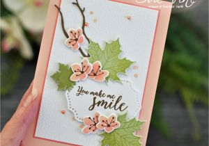Thank You for the Beautiful Card and Gift Pin by Deb Curtis On Stamping Up Pink Crafts