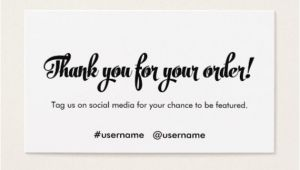 Thank You for Your Business Card Template 7 Business Thank You Cards Free Sample Example format