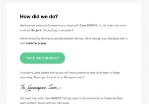 Thank You for Your Feedback Email Template the Proper Way to ask for Customer Feedback Kayako Blog