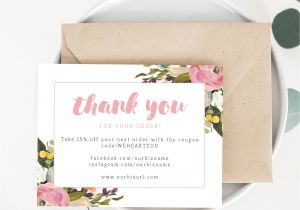 Thank You for Your Purchase Card 43 Best Thank You for Your order Images Business Thank You