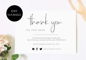 Thank You for Your Purchase Card Mackenzie Briggs Mackenzieabriggs On Pinterest