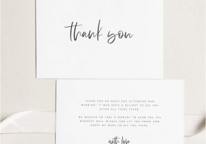 Thank You for Your Purchase Card Printable Thank You Card Wedding Thank You Cards Instant