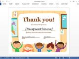Thank You Gift Certificate Template Best Certificate Templates for Word
