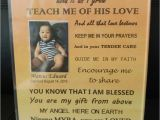 Thank You On A Card Thank You Message for Godparents with Images God Parents
