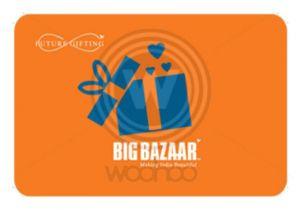 Thank You On Gift Card Big Bazaar E Gift Card