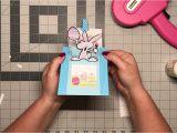 Thank You Pop Up Card Easter Pop Up Slider Card Cricut Design Space File Youtube