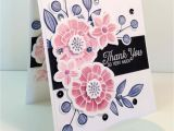 Thank You so Much Card Falling Flowers Thank You so Very Much with Images