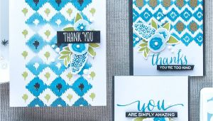 Thank You Stamps for Card Making Wplus9 Thank You Card Design Card Making Inspiration