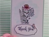 Thank You Sympathy Card Wording Flowering Fields Thanks Floral Cards Flower Cards