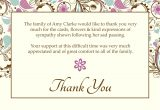 Thank You Sympathy Card Wording Template for Thank You Card Best Of 12 Best Thank You Card